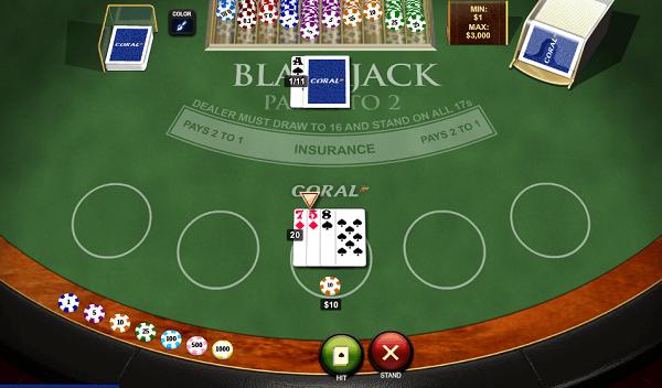 black jack online free
