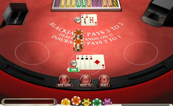 Blackjack Odds