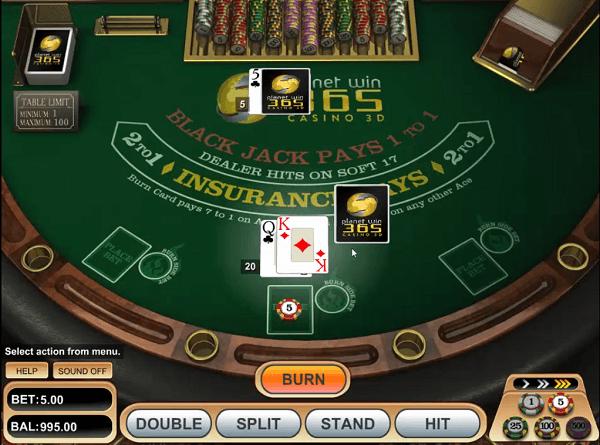 Bovada Blackjack Practice