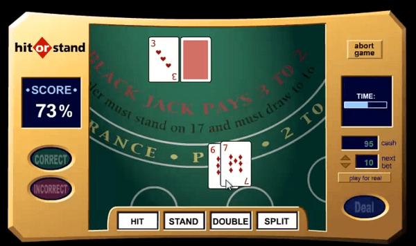 blackjack simulator