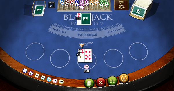 how to play Blackjack free