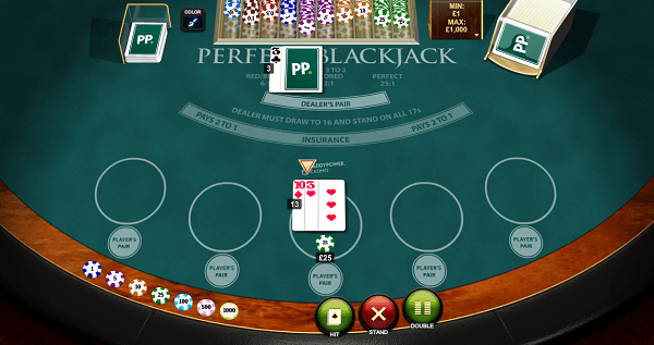 Perfect Blackjack system