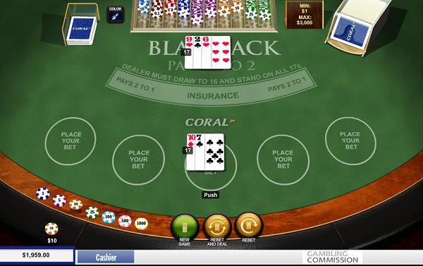 play black jack online