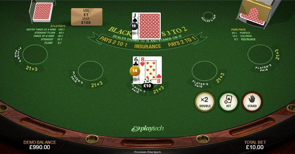 play Blackjack free for fun