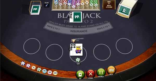 rules of Black Jack