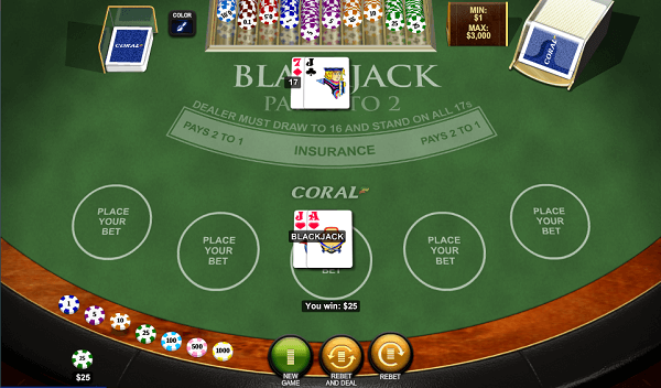 rules of blackjack card values