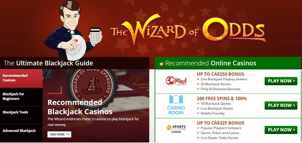 Wizard Of Odds Blackjack