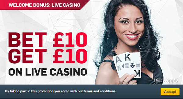 Betfair Blackjack Promotion in UK