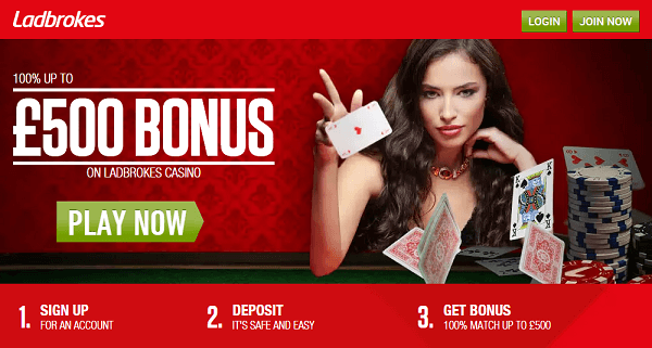 Ladbrokes Blackjack Promotions